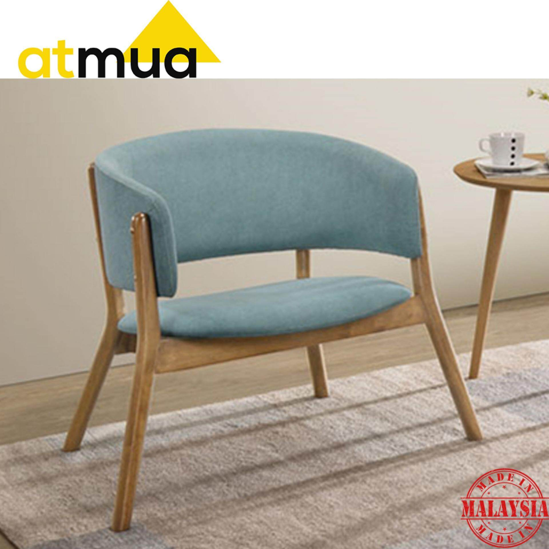 Atmua Milan Lounge Chair Set Full Solid Wood 2 Unit Chair