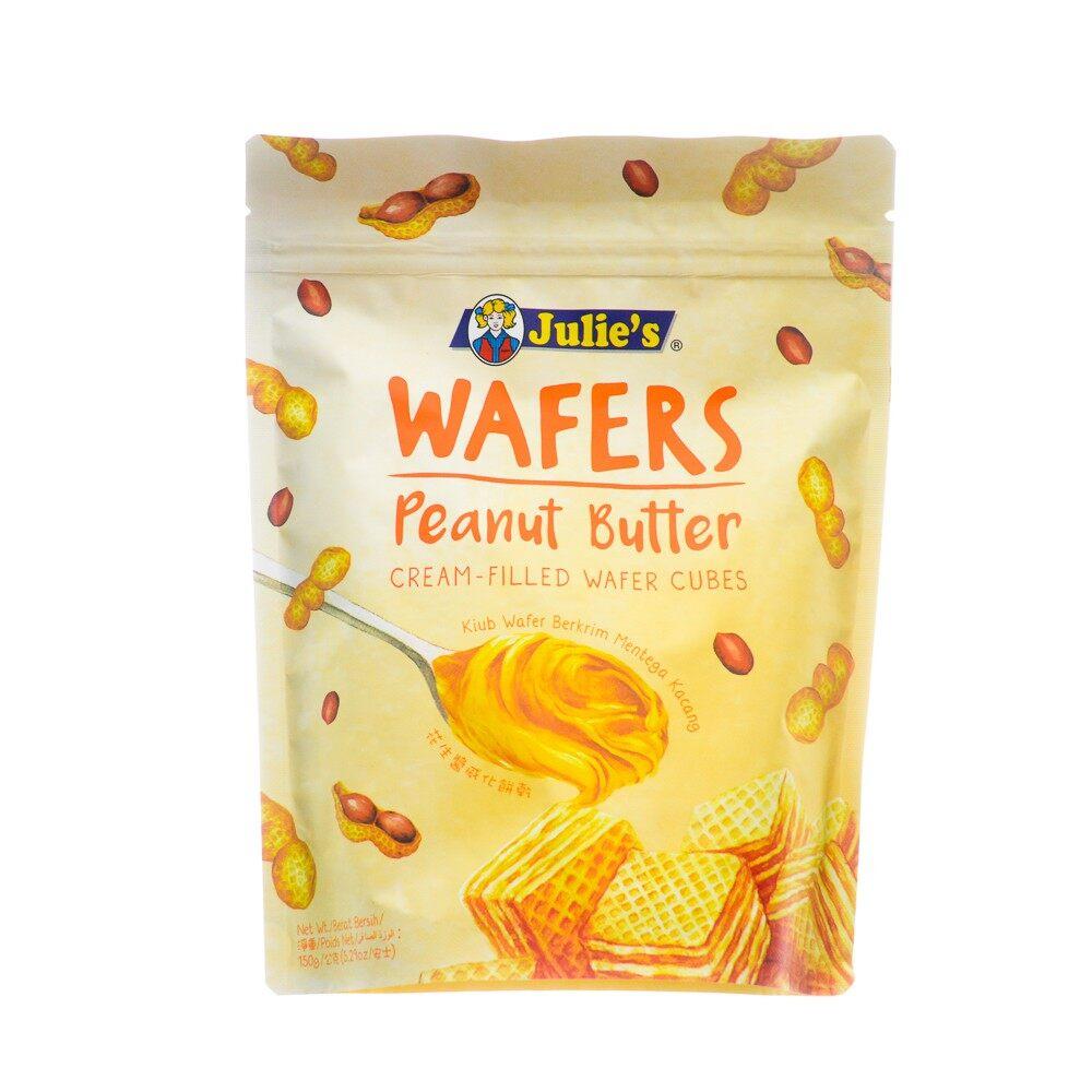 Julie Wafers Peanut Butter 60g