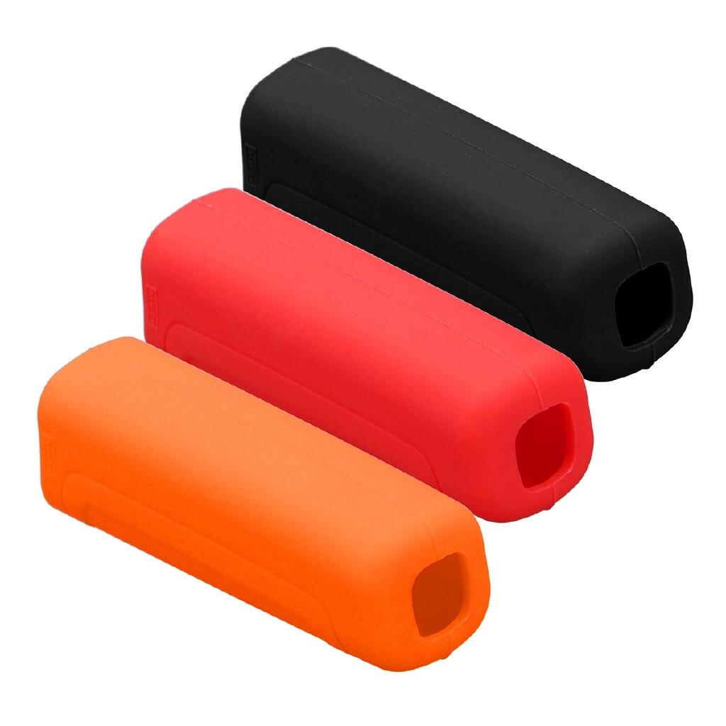 Moto Accessories - Car Silicone Non Slip Handbrake Handbrake Covers For Benz Smart Fortwo A453 - BLACK / ORANGE / RED