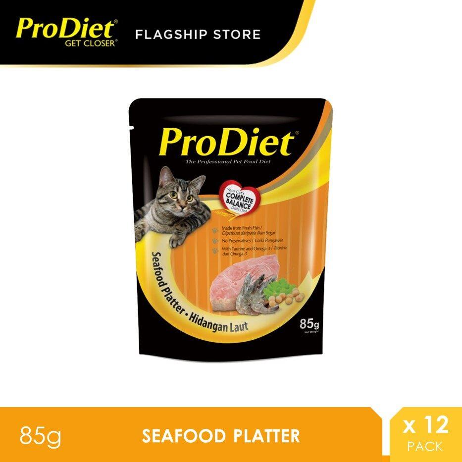 ProDiet 85G Seafood Platter Wet Cat Food X 12 Packs