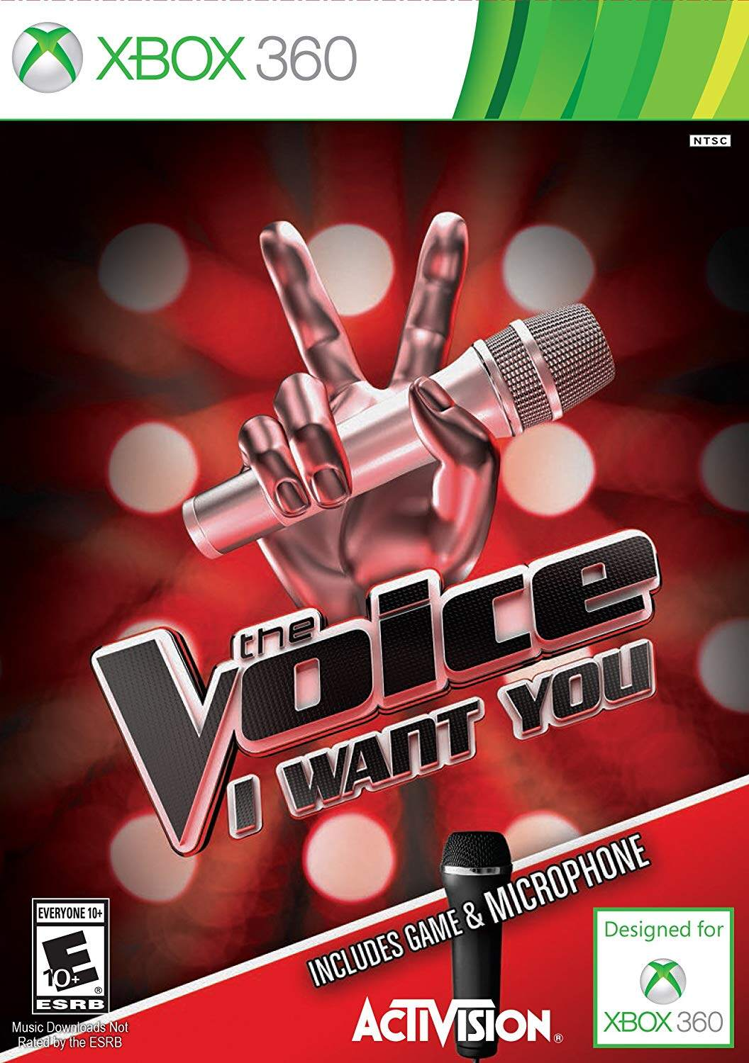 XBOX 360 The Voice I Want You