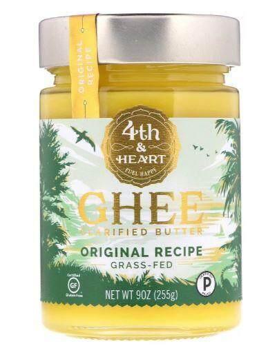 USA-4th & Heart, Ghee Clarified Butter, Grass-Fed (255 g)