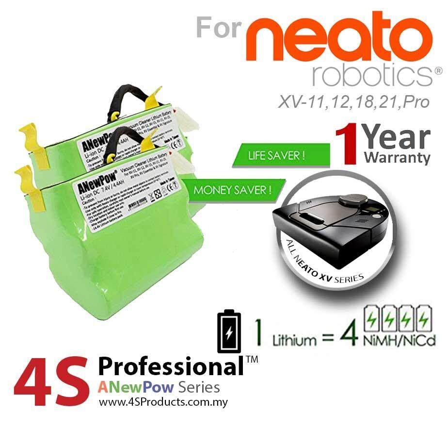 Neato XV Lithium Battery Replacement High Capacity 4400mAH