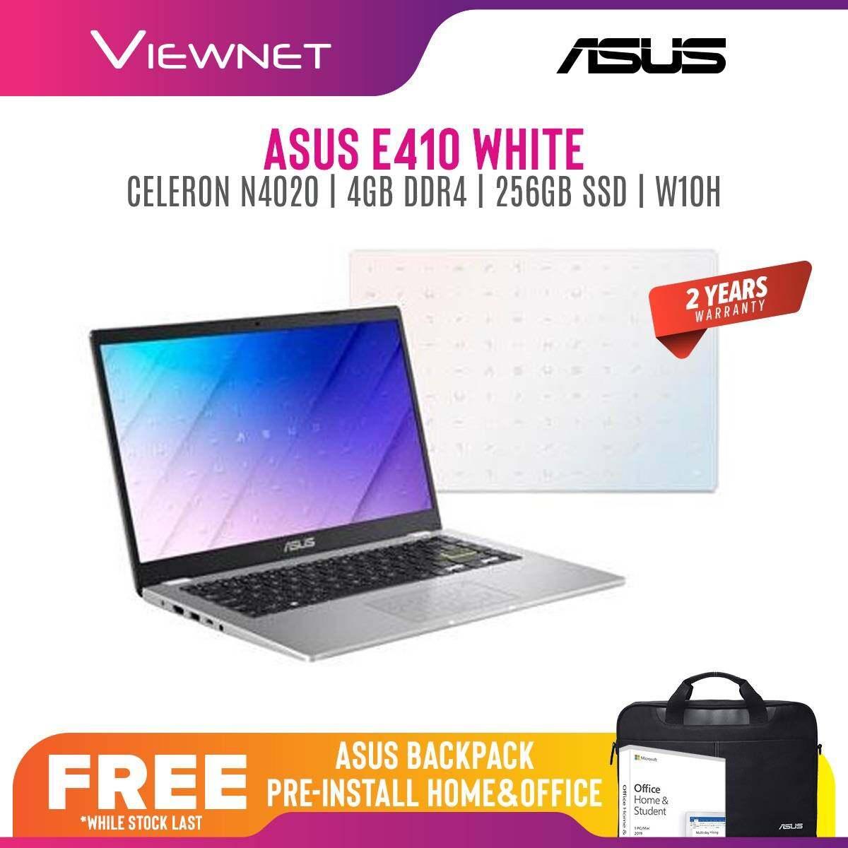 ASUS VIVOBOOK E410M-ABV016TS E410M-ABV017TS E410M-ABV018TS LAPTOP INTEL CELERON N4020 4GB DDR4 256GB SSD INTEL UHD GRAPHIC 14