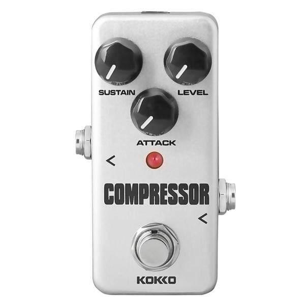 KOKKO FCP2 Phơ Guitar Mini Máy Nén Bàn Đạp Phơ Guitar Phần Guitar Điện Guitar Bass Phụ Kiện