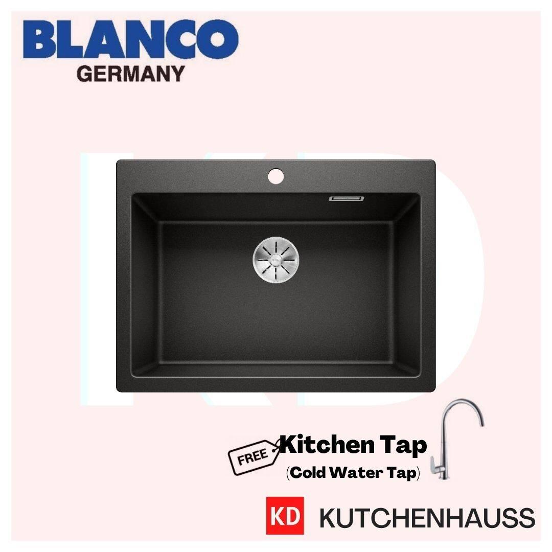 Blanco Pleon 8 Topmount Granite Sink / Free Tap / Topmount Sink / Single Bowl / Blanco Sink / Blanco / Sink / Kutchenhauss