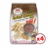 888 3 in 1 Instant Cereal - Chocolate (28g x 20 Sachets) - [Bundle of 4]