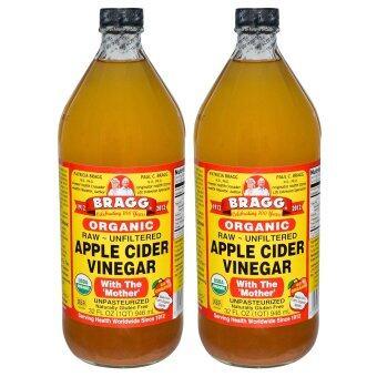 Bragg Apple Cidar Vinegar 32oz 946ml x 2