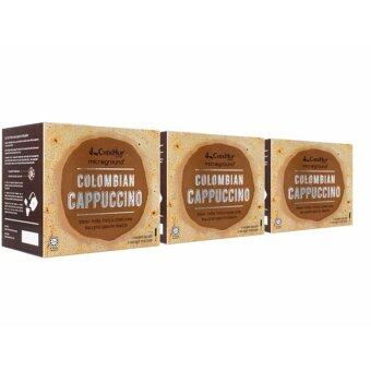 Harga [FREE SHIPPING] Chek Hup Microground Colombian Cappuccino 28g x 6s (Bundle of 3)
