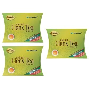 Harga [3 box] NH DETOX CLENX TEA 40's + 10's