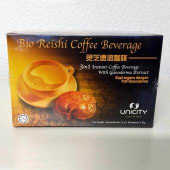 Harga Unicity Bio Reishi Coffee (3 in 1)