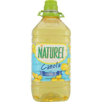 Harga NATUREL PURE CANOLA OIL 3KG
