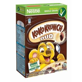 Harga NESTLE KOKO KRUNCH Duo Cereal Medium 170g
