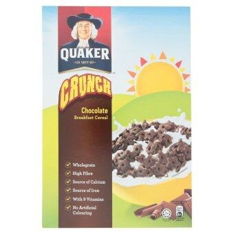 Harga Quaker Crunch Chocolate Breakfast Cereal 300g