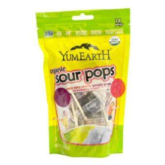 Harga Yummy Earth Organic Sour Pops (14 pops)