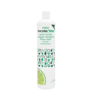Harga TESCO EVERYDAY VALUE DISH WASH LIME (1L)