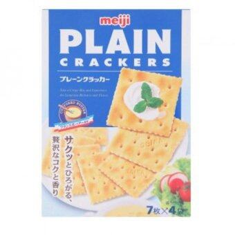 Harga Meiji Plain Crackers 4 Packs 104g