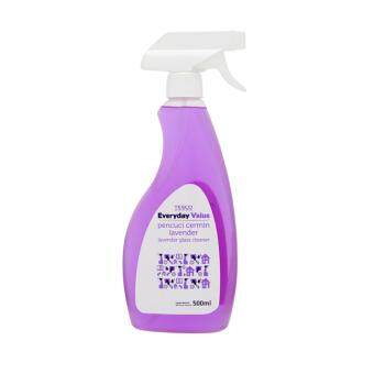 Harga TESCO EVERYDAY VALUE GLASS CLEANER LAVENDER (500ML)