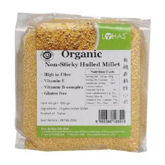 Harga Lohas Organic Non-Sticky Hulled Millet 500g