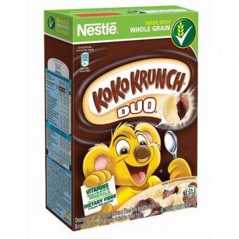 Harga NESTLE KOKO KRUNCH Duo Cereal Large 330g
