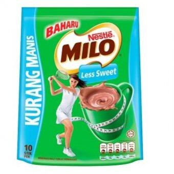 Harga MILO Less Sweet 10x30g Stick Packs