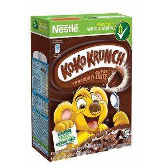 Harga NESTLE KOKO KRUNCH Cereal Medium 170g