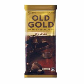 Harga Cadbury Old Gold Dark Chocolate 70% Cocoa 200G