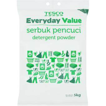 Harga TESCO EVERYDAY VALUE DETERGENT POWDER (5KG)