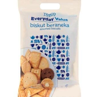Harga TESCO EVERYDAY VALUE ASSTORTED BISCUIT REFILL (430G)