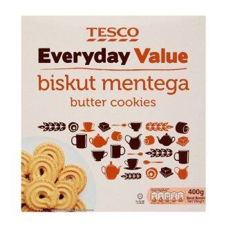 Harga Tesco Everyday Value Butter Cookies 400g