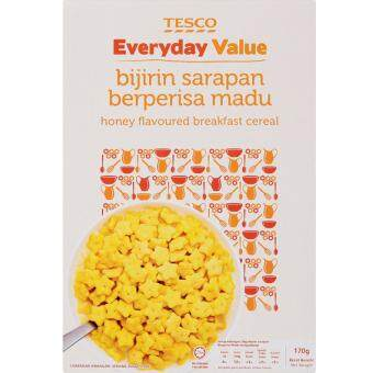 Harga TESCO EVERYDAY VALUE CEREAL HONEY (170G)