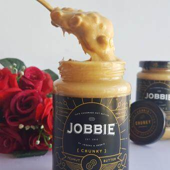 Jobbie Nut Butter Chunky Regular Version Peanut Butter 380grams