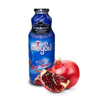 Harga Meysu Pomegranate Juice 100% Glass Botlle 1l x 6