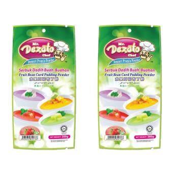 Mr Dezato Chef Dadih Pudding Powder (Strawberry Flavour) 360G x 2