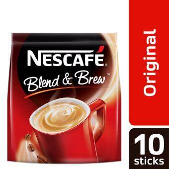Harga NESCAFE Blend and Brew Original 10 Sticks, 20g Each