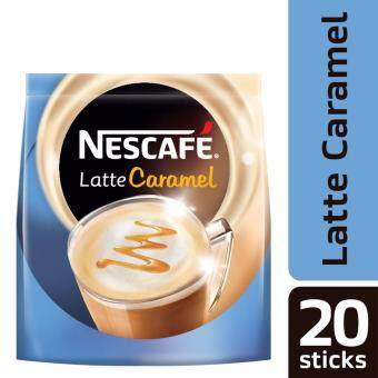Harga NESCAFE Latte Caramel 20 Sticks, 25g Each (SPECIAL OFFER)