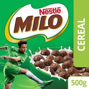 Harga NESTLE MILO Breakfast Cereal Econopack (1 box of 500g)