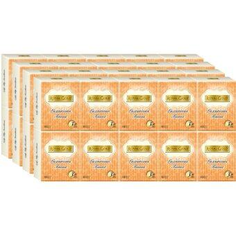 ROYAL GOLD Tissue Hanky Packs 10pkts x10sheets x4 Tube - 3 Packs