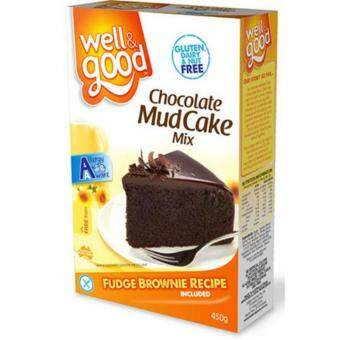 Well & Good Gluten Free Chocolate Mud Cake 475g
