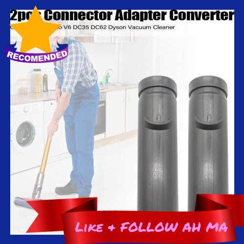 Best Selling 2pcs Connector Adapter Converter for CY22 V7 V8 V10 V6 DC35 DC62 Dyson Vacuum Cleaner (Grey)