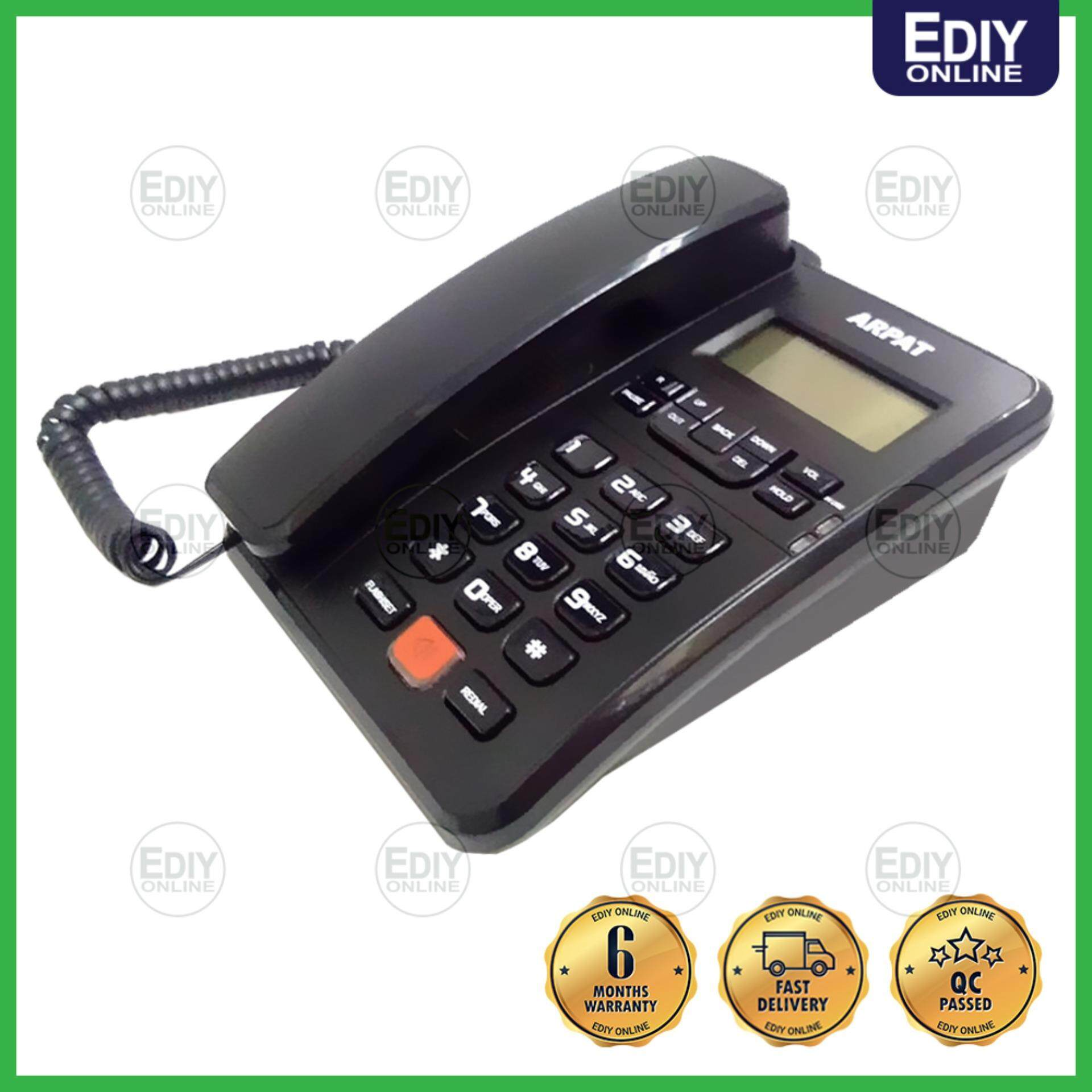 ARPAT CALLER ID PHONE TELEPHONE 8810 7710 PROFESSIONAL (RANDOM COLOR) _3601015 [EXTRA BOX PACKING]