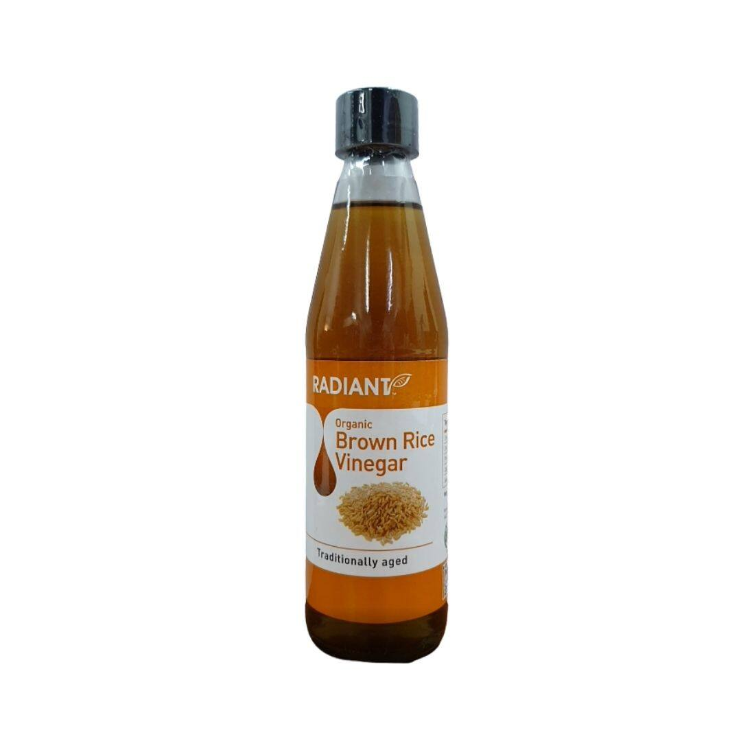 Radiant Organic Brown Rice Vinegar 310ML x2- TWIN PACK