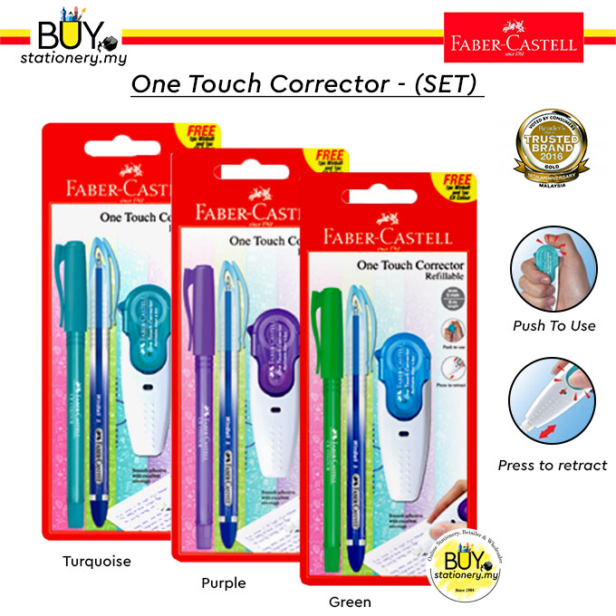 Faber Castell One Touch Corrector Promo Pack - (Card)