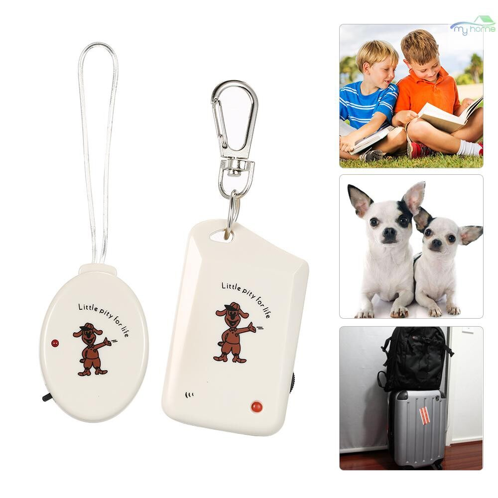 Protective Clothing & Equipment - WIRELESS Electronic Anti-Lost Alarm Kids Pet Wallet Phone Security Finder Keychain Anti Lost - BEIGE
