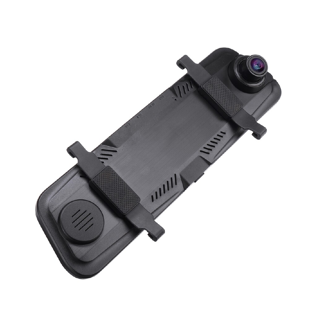 Sports & Action Cameras - 9.66 Inch HD 1080P Car DVR Dash Cam Front and Rear Mirror Camera Video Recorder - Drones