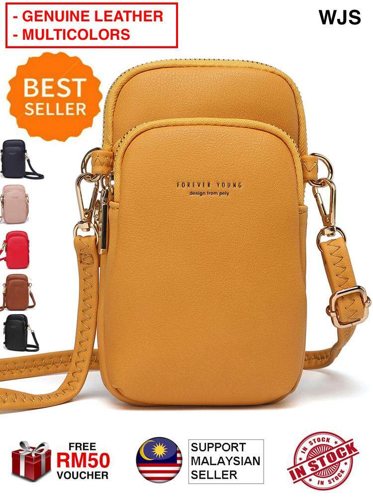 (GENUINE) WJS Latest Mini Forever Young Handbag Women Small Crossbody Purse Cell Phone Pouch Wallet Shoulder Bag MULTICOLOR [FREE RM 50 VOUCHER]