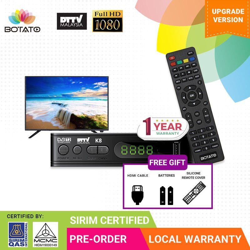 K6 Digital TV Receiver USB Media Player myFreeview Free Lifetime Subscription