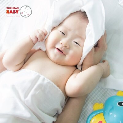 Suzuran Baby: Gauze Bath Towel - 3pcs