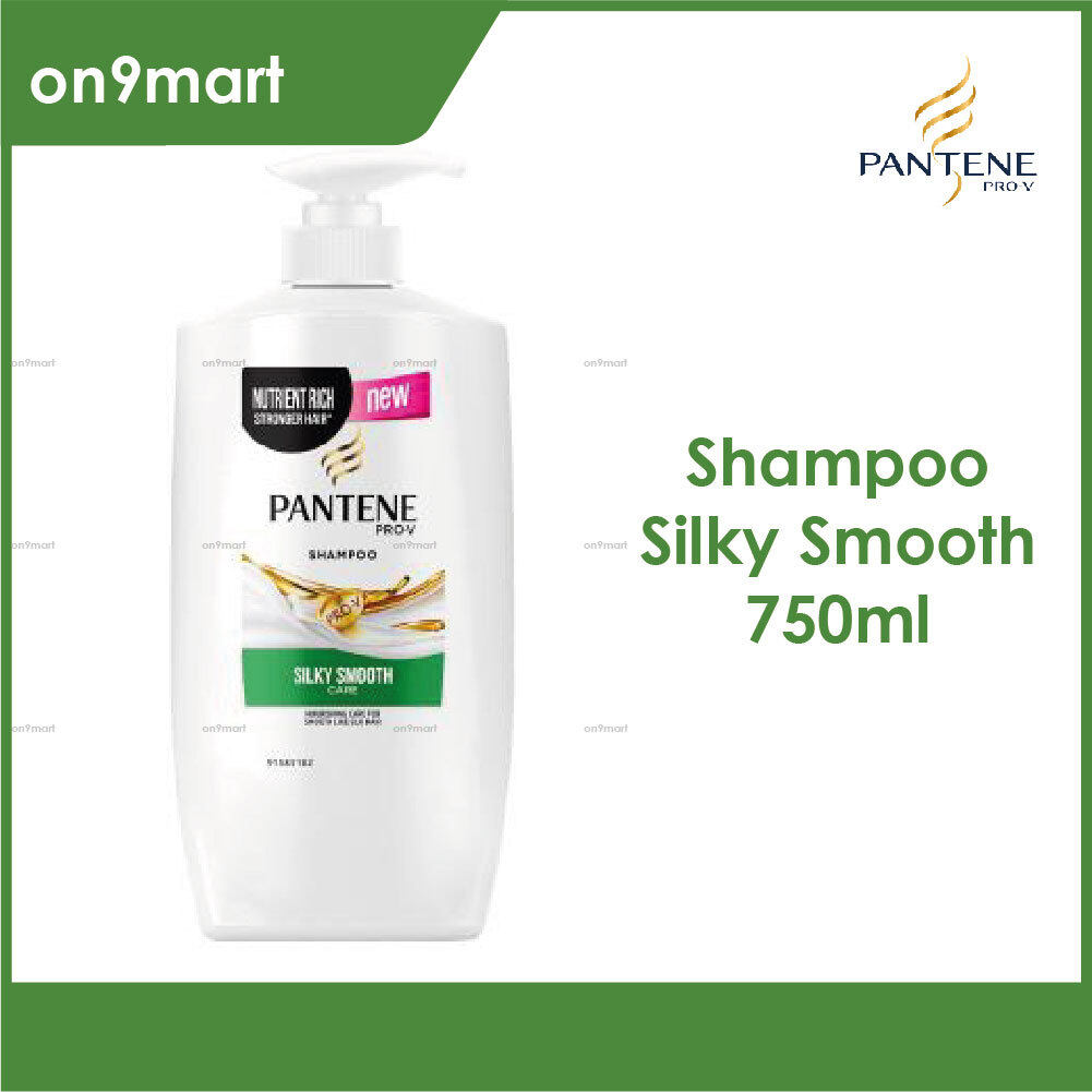Pantene Pro-V Silky Smooth Care Hair Shampoo 750ml