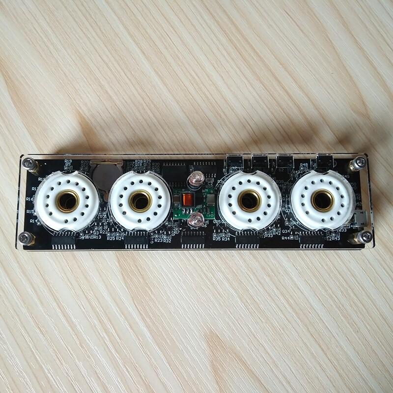 Digital Nixie Tube Clock QS30-1 ZM1020 Vintage Retro Desk Table For SZ3-1 ZM1020 Z2560M Tube / 5V - BASIC VERSION / ADVANCE VERSION